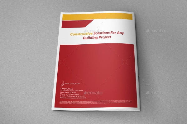Company Construction Proposal Template