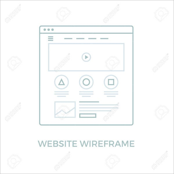 Wireframe User Interface Icons
