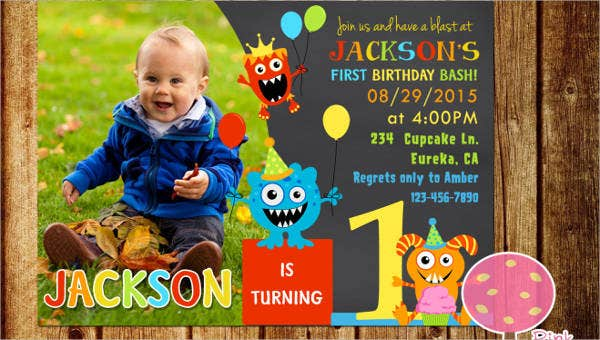 Free Printable Birthday Party Invitation Template - 12+ Free