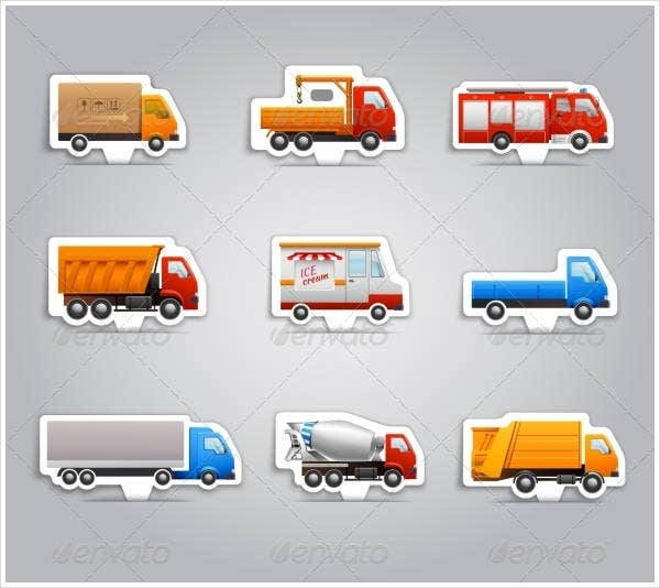 truck-paper-stickers