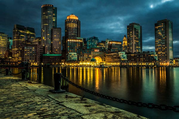 night city landscape photography