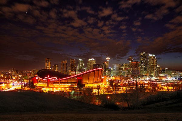 Night Calgary Photography
