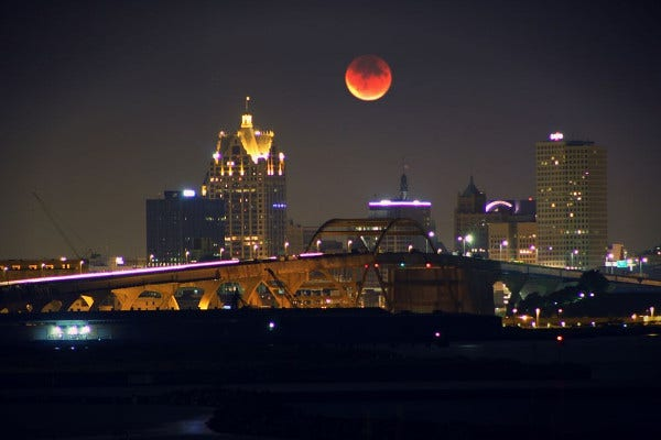 Blood Moon Night Photography