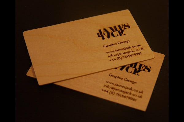 Business Card for James Jack