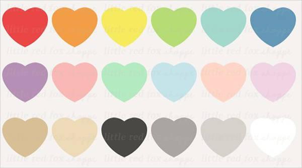heart silhouette clip art