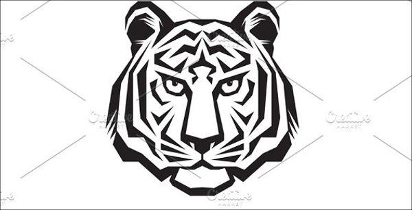 tiger-face-logo
