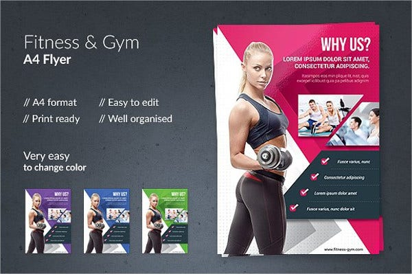 Fitness and Gym Flyer