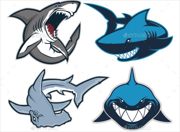 shark-mascot-logo