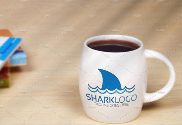 restaurant logo with shark