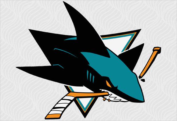 shark logo vector