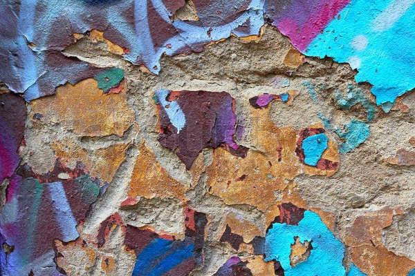 Grungy Peeling Paint Texture