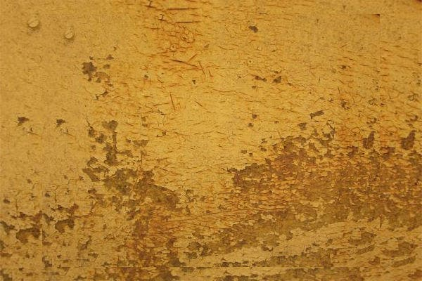 Free Grungy Yellow Paint Texture