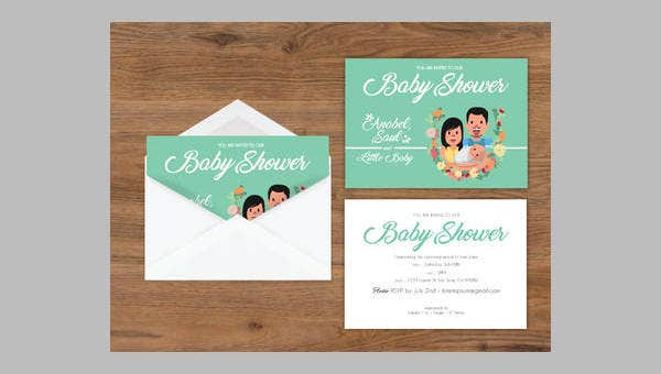 image regarding Free Printable Baby Shower Invitations Templates for Boys named 14+ Cost-free Printable Child Shower Invites Cost-free High quality