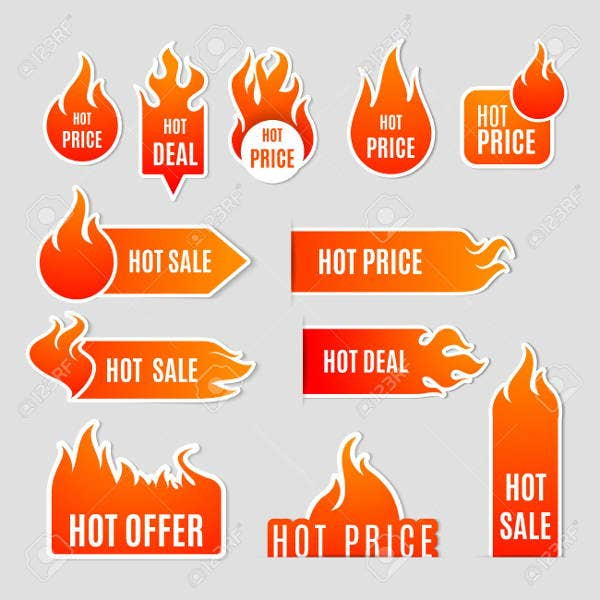 sales-labels-icons-set