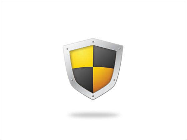 yellow-shield-vector
