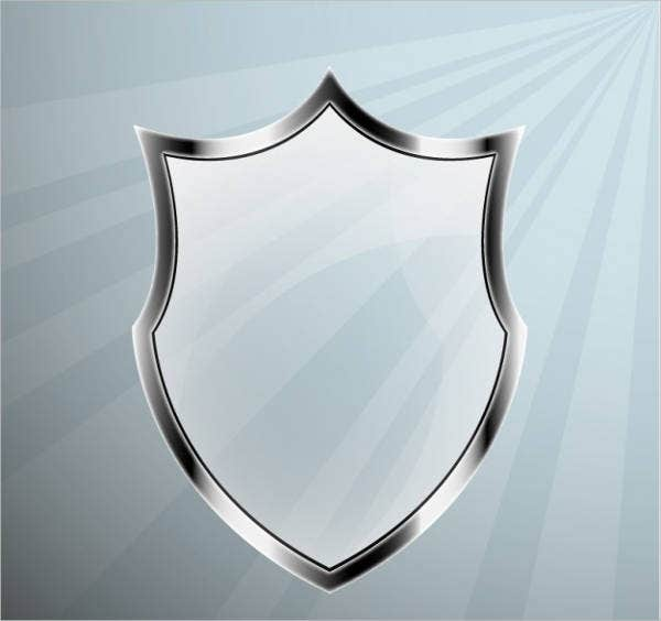 free-glass-shield-vector