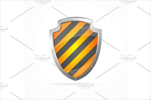 striped-shield-vector
