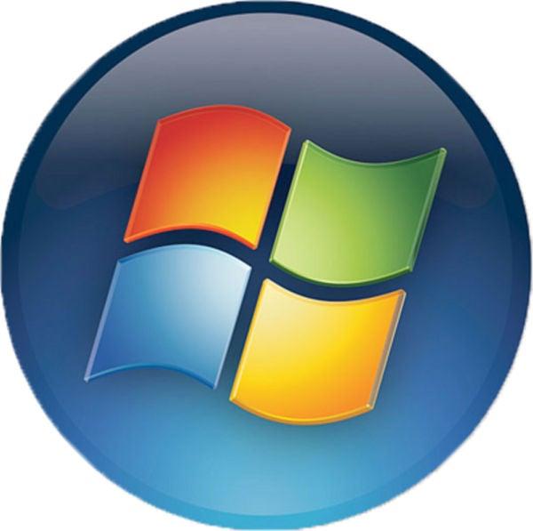 Windows Round Logo Free PSD
