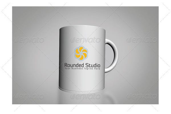 Rounded Studio Logo Template