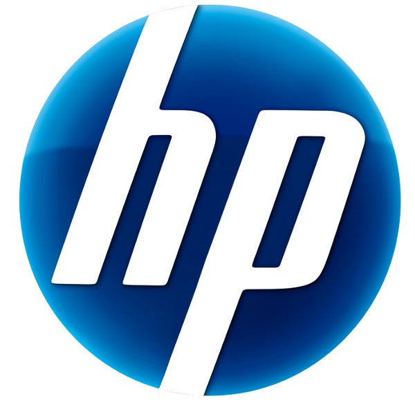 Rounded Design HP Logo Free
