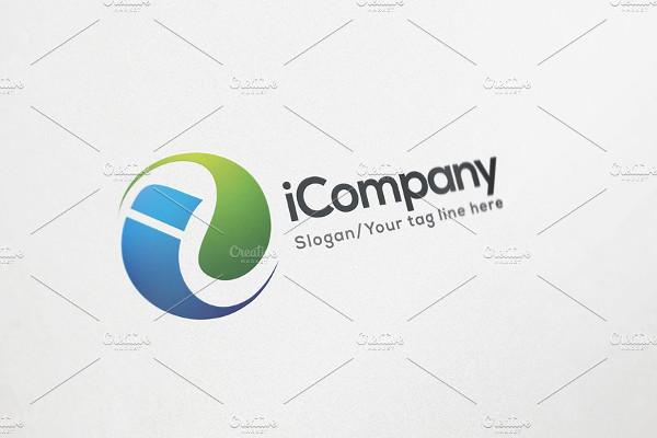rounded company logo design