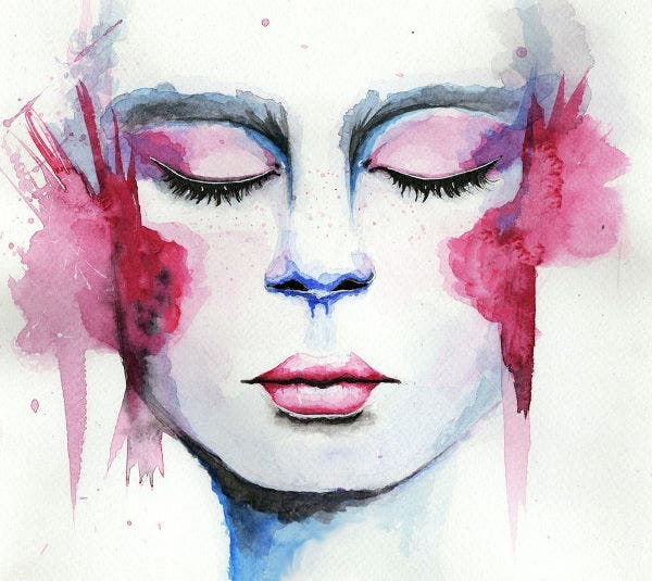 watercolor painting illustration