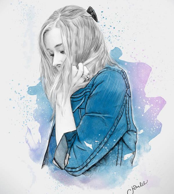 watercolor illustration by charlie bearman