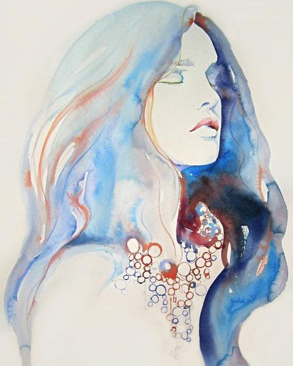 watercolor illustration by cate parr