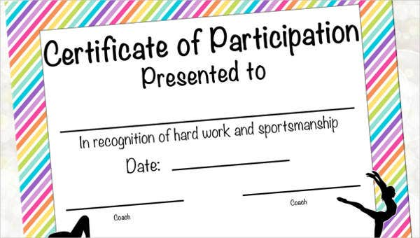 certificateofparticipationtemplates