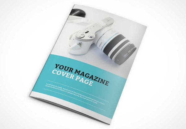 Clean Photorealistic Magazine Cover Mockup