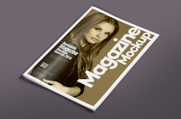 14 photorealistic magazine cover mockups
