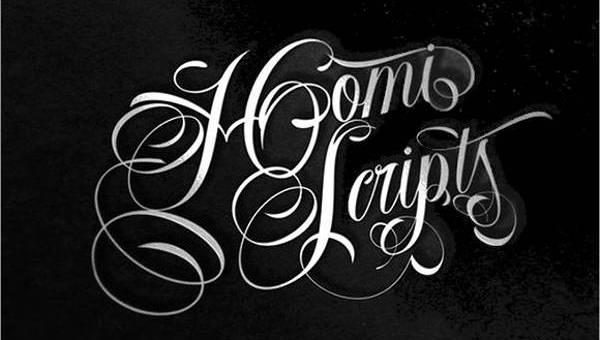863688a07 10+ Cursive Tattoo Fonts | Free & Premium Templates