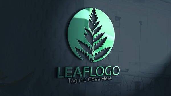 10  beautiful leaf logo designs