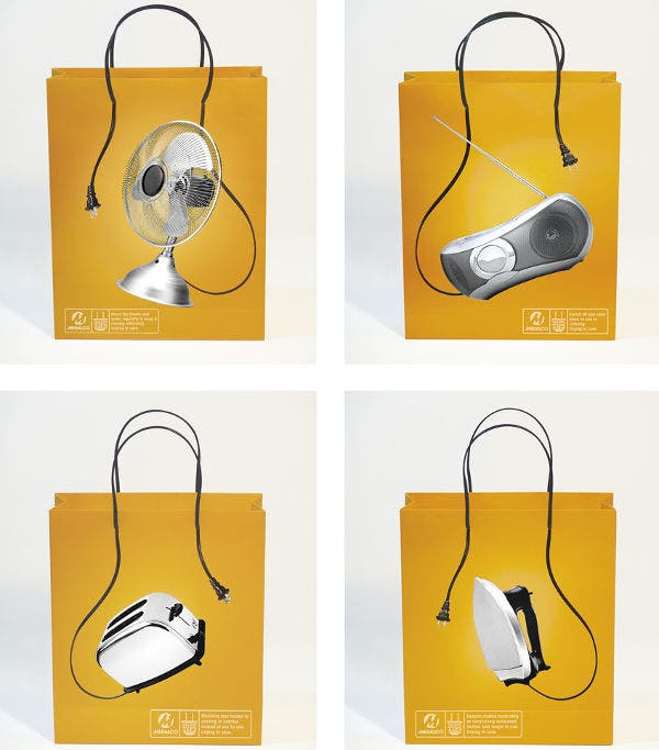 Paper Bag Unplug Design