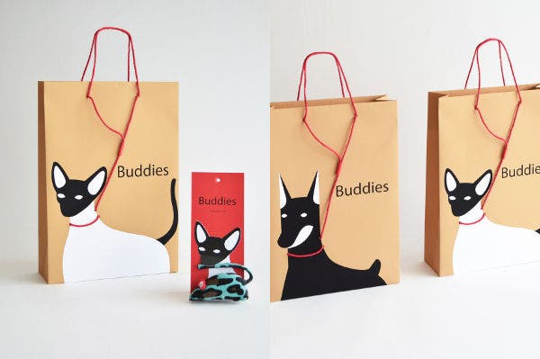 Paper Bag Design Free Download