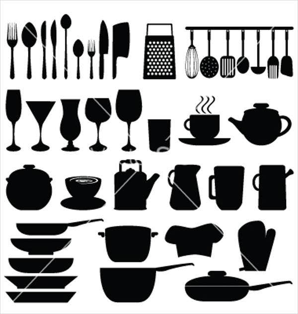 vector-kitchen-icons