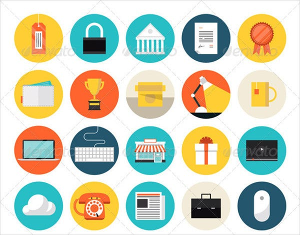 E-commerce Marketing Icons