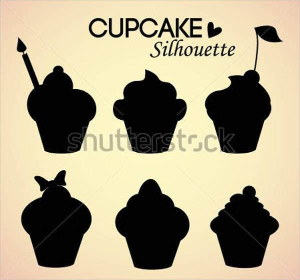 cupcake-silhouette-vector