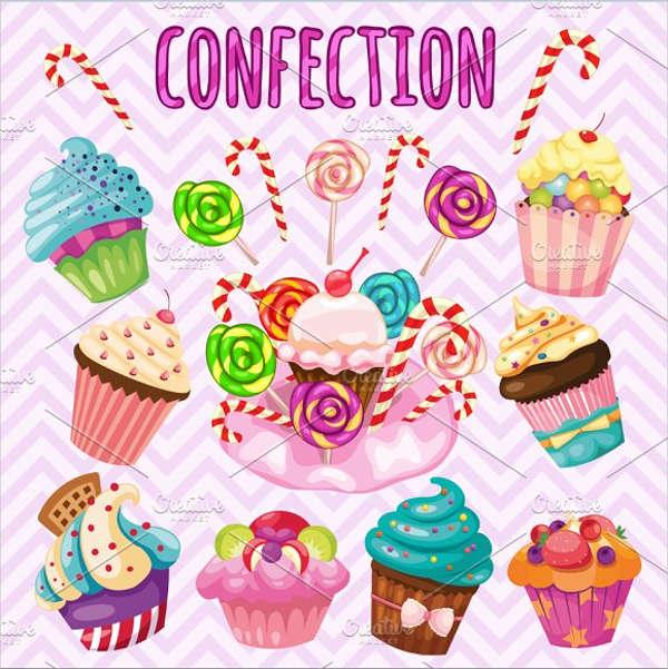 dessert-cupcake-vector
