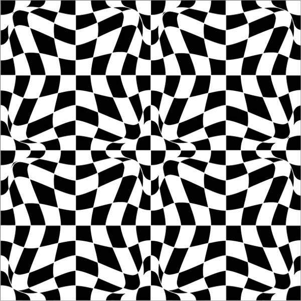 Black And White Vector Pattern