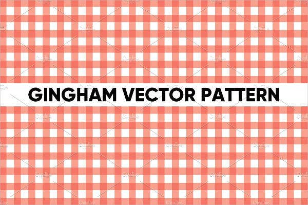 gingham vector pattern