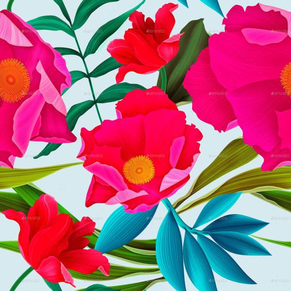 High Quality Seamless Flower Patterns