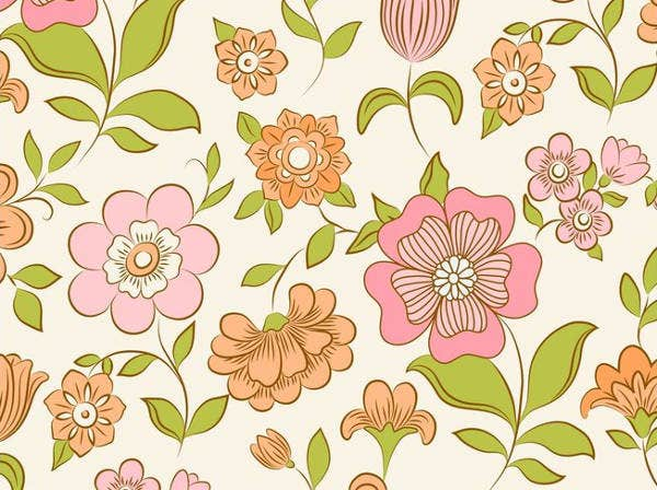 Vector Flower Petal Flower Patterns