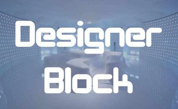 Block Alphabet Font