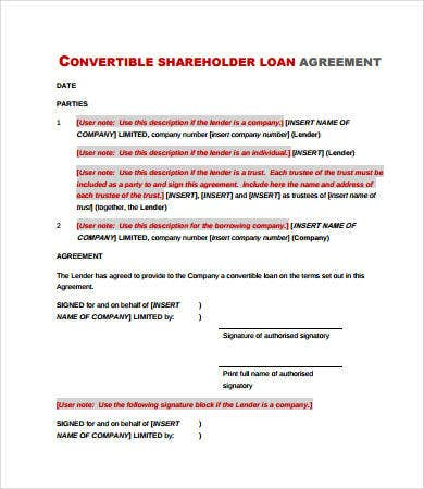simple convertible loan agreement1