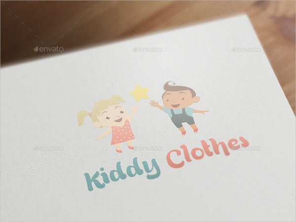 Baby & Kids Clothing Logo