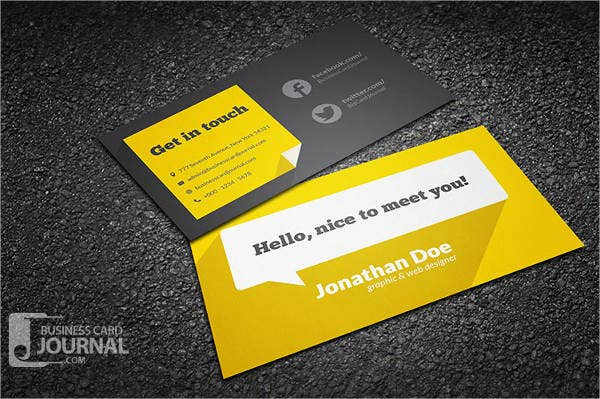 10 free business card templates free psd vector ai eps format free printable business card template fbccfo Images