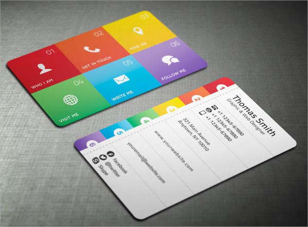 10 free business card templates free psd vector ai eps format free modern business card template fbccfo Image collections