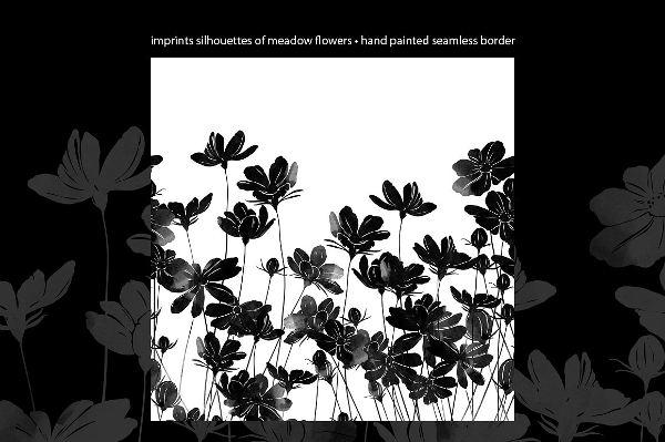 vintage-meadow-flower-silhouette