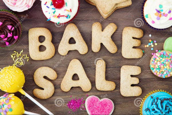 Funny Bake Sale Flyer Template